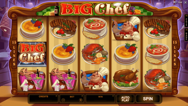 Big Chef Slot Game